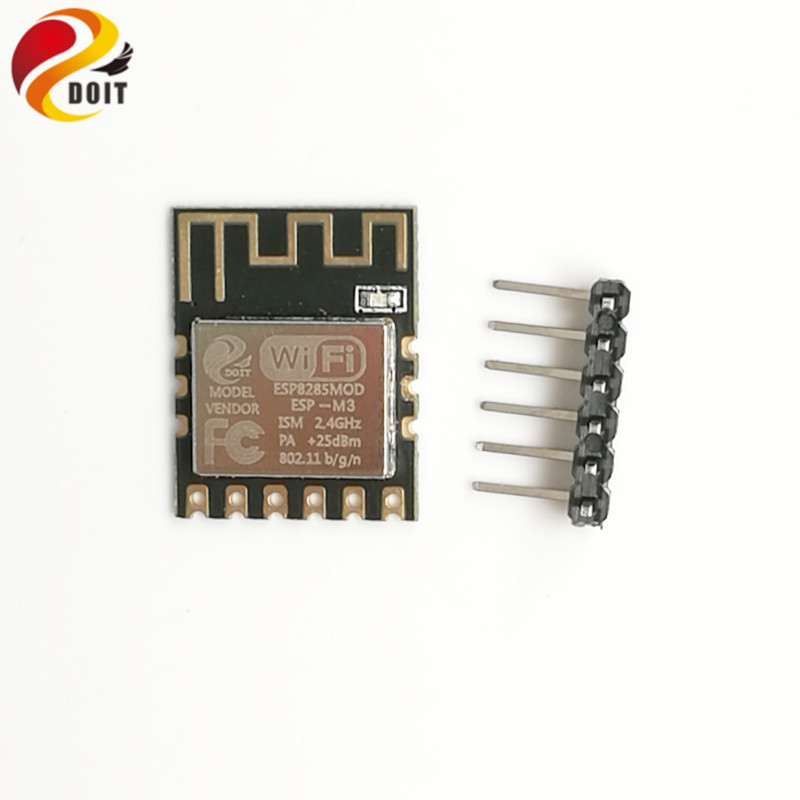 DOIT 1pcs Mini Ultra-small size ESP-M3 from ESP8285 Serial Wireless WiFi Transmission Module Fully Compatible with ESP8266 nrf24le1 wireless data transmission modules with wireless serial interface module dedicated test plate