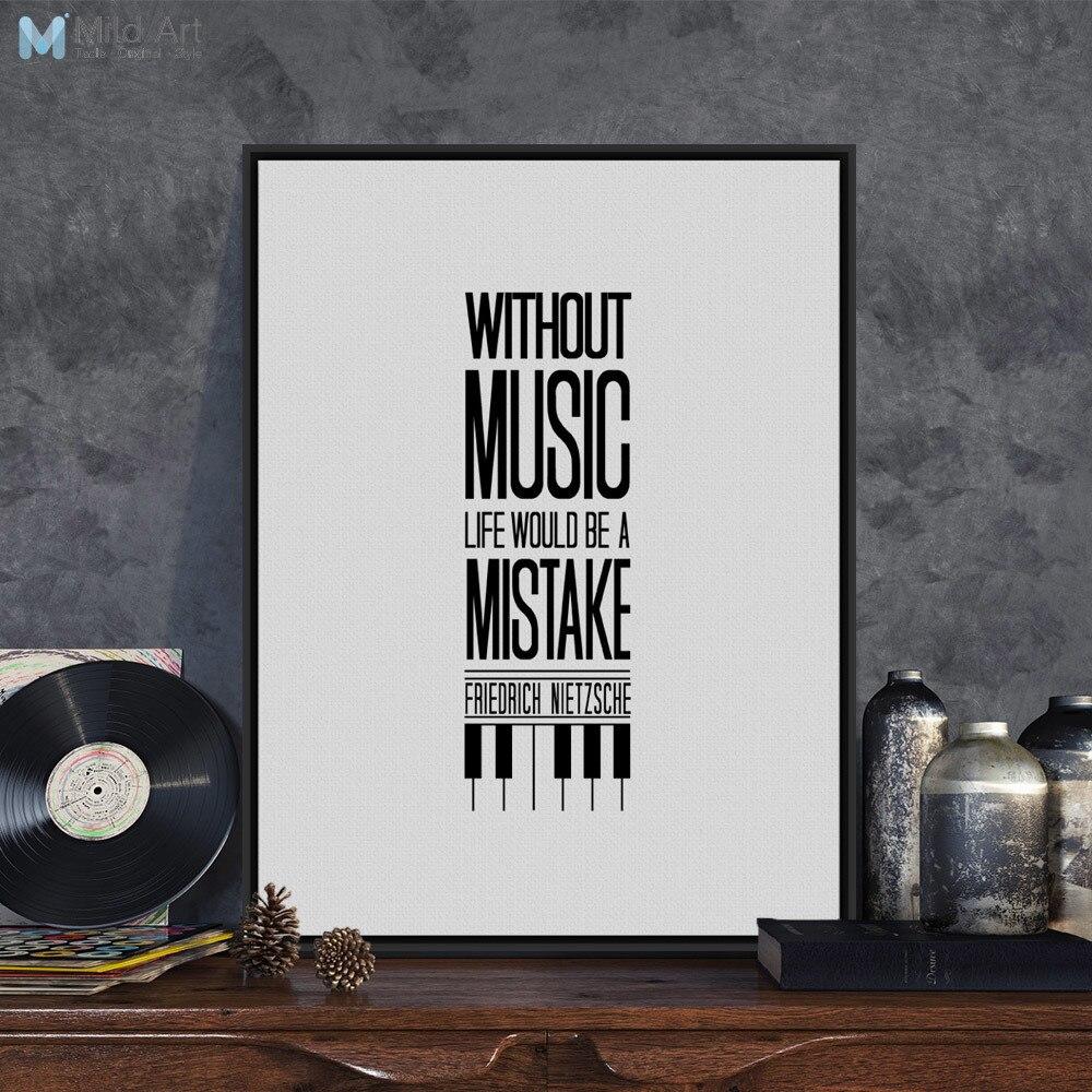 Citation Nietzsche Musique : Ambiance sticker sticker sans musique la vie serait