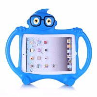 For Fundas IPad 2 3 4 Case 3D Cartoon Kids Baby Safe Shockproof Heavy Duty EVA