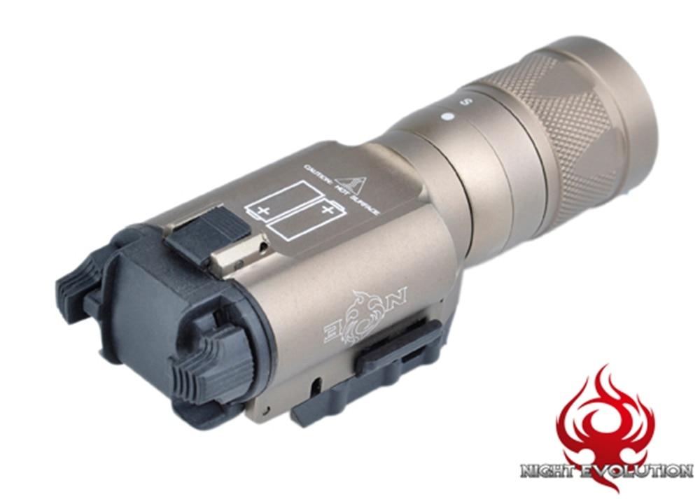 ФОТО WIPSON X300V Light Dual-Output WeaponLight Black/ Dark Earth