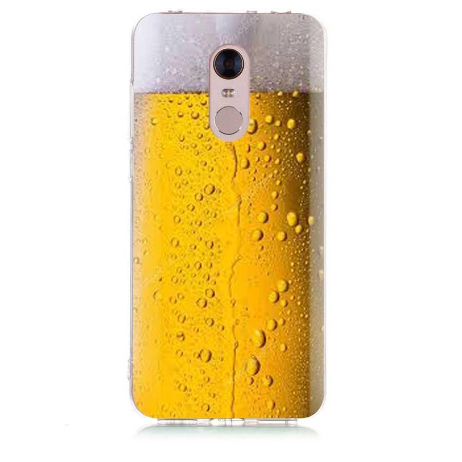 À motifs étui de téléphone pour xiaomi Rouge mi 4X Note 3 mi A1 Note 4 Pro 4A Note 5 6 6pro Pour Rouge mi 5A 6 6A Souple étui en polyuréthane thermoplastique Fundas D129