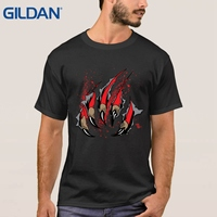 Top Men T Shirts Round Neck Games Of Thrones Wolf Blood House Stark Movie Black Tee
