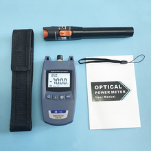 2 In 1 FTTH Fiber Optic Tool Kit King 70S Optical Power Meter  70 bis + 10dBm und 10mW visual Fault Locator Fiber optic test stift
