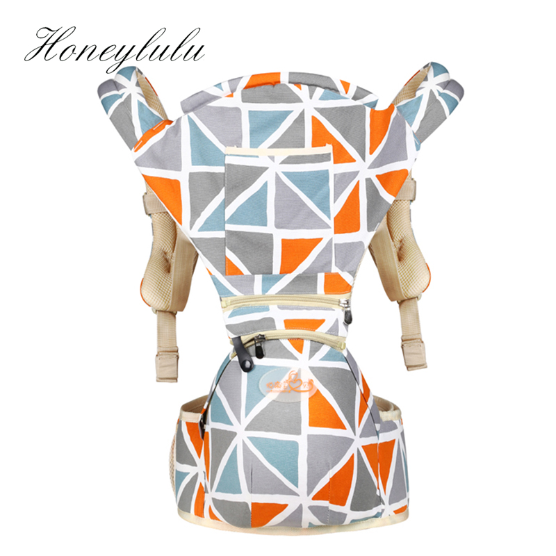 Honeylulu 2 In 1 Baby Carrier Sling For Newborns Adjustable 3-30 Months Kangaroo For Baby Ergoryukzak Baby Backpack Hipseat