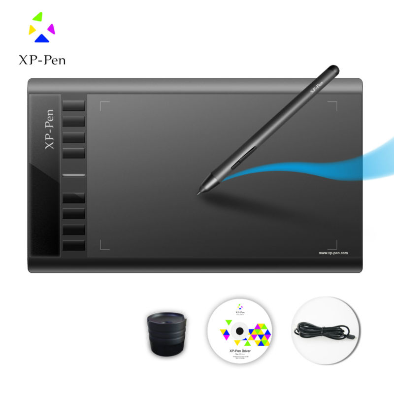 XP-Pen Star 03 12 inch Graphics Tablet Drawing Tablet with 2048 Level Passive Pen