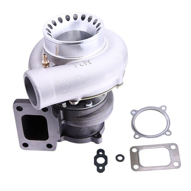 GT3582 .70 a/r compressor .63 a/r Turbine rear T3 flange turbocharger Turbolader Turbo for R32 R33 R34 RB25 RB30 T3 .70 A/R