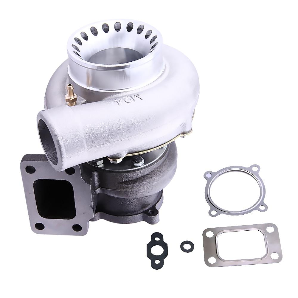GT3582. 70 a/r compressore. 63 a/r Turbina posteriore T3 flangia turbocompressore Turbolader Turbo per R32 R33 R34 RB25 RB30 T3. 70 A/R