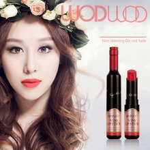 Profession Makeup 6 Colors Red Wine Air Mattress Lipstick Matte Lip Pencil Set Durable Lipstick Makeup Brush Makeup Waterproof T