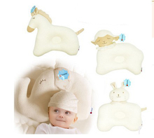 toddler pillows 28cm*29cm infant baby sleep pillow organic neck newbornmemory foam pillows travel kids baby bedding Sheep horses