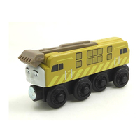 Free Shipping NEW DIESEL 10 Original Thomas Friends Wooden Magnetic Railway Train Model Boy Baby Toys