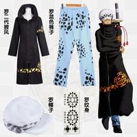Stock Trafalgar D Water Law Surgeon Of Death Anime One Piece Cosplay Costume Trafalgar Law 2