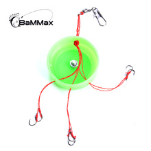 Bammax fishing hook 4# 5# 6# 7# 8# 9# 10# 11# 12# high quality barbed Hook Fresh Water sea Fishing Explosion Hook Fishing Tackle