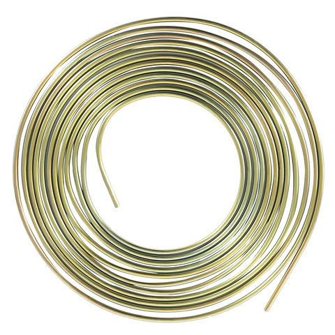 Cupro Nickel Fuel Brake Pipe Hose Line 25FT Copper Outer Diameter 4.76-12 Brake Tube Auto Replacement Parts Islamabad