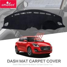 Тире коврик черный коврик для SUZUKI SWIFT ZC33S/13 S/53 S/C83S нескользящий Автомобильный интерьер