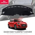 Dash коврик Dashmat черный ковер Обложка для SUZUKI SWIFT 2018 2019 ZC33S/13 S/53 S/C83S нескользящий Автомобильный интерьер