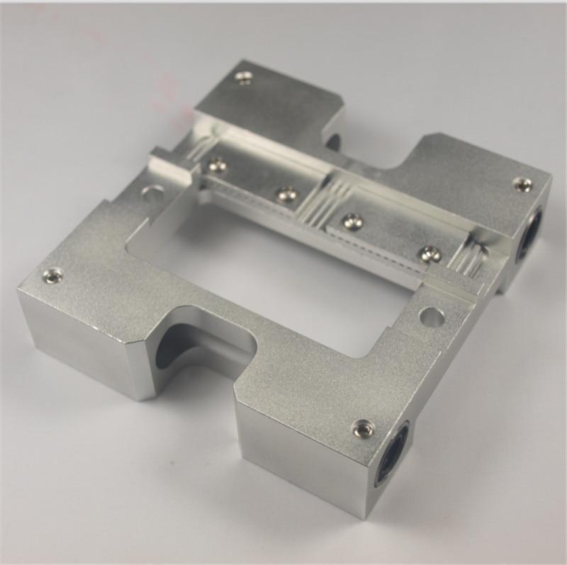 3D printer accessories MK Replicator Upgrade X axis slider metal Extruder Carriage Flashfoge/CTC fixing aluminum pieces