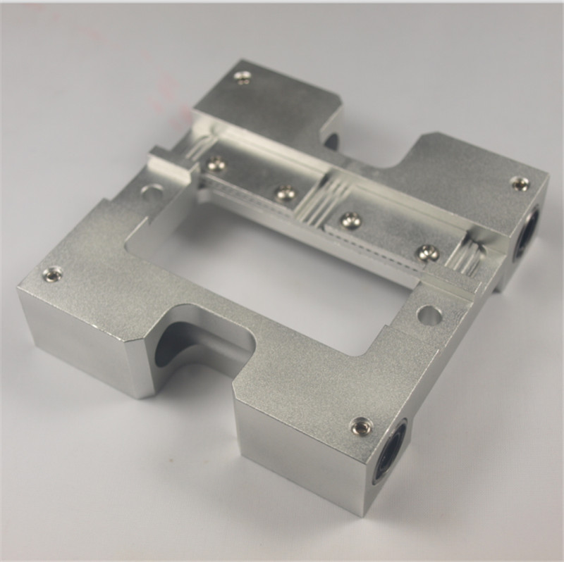 Funssor 8/10mm Replicator Upgrade X axis slider metal Extruder Carriage For Flashfoge/CTC fixing aluminum pieces