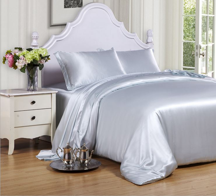 light pink light blue voilet color 100 mulberry silk bedding set 16 mm  seamless queen king size 4 pieces set bedding on sale. Comforter Sets On Sale  Bedroom Magnificent Queen Bedding Sets