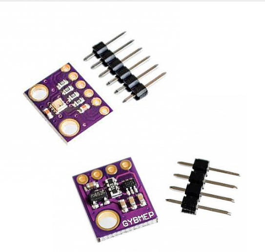 3In1 BME280 GY-BME280 Digital Sensor SPI I2C Humidity Temperature And Barometric Pressure Sensor Module 1.8-5V 5V/3.3V