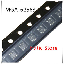 10PCS   100% new and orginal MGA-62563-TR1G MGA-62563 MGA62653 MARKING 62 SOT-363   IC