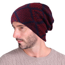 Mens and Womens Ski Warm Hat Wholesale 2018 Autumn Winter Black Knit Wool Hats