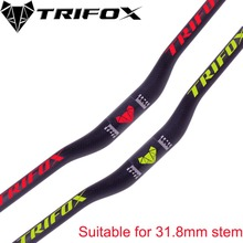 Carbon Fiber Total MTB Bike Riser  Handlebars Suitable for 31.8mm Stem 760mmT700 3K matt bicycle handlebar