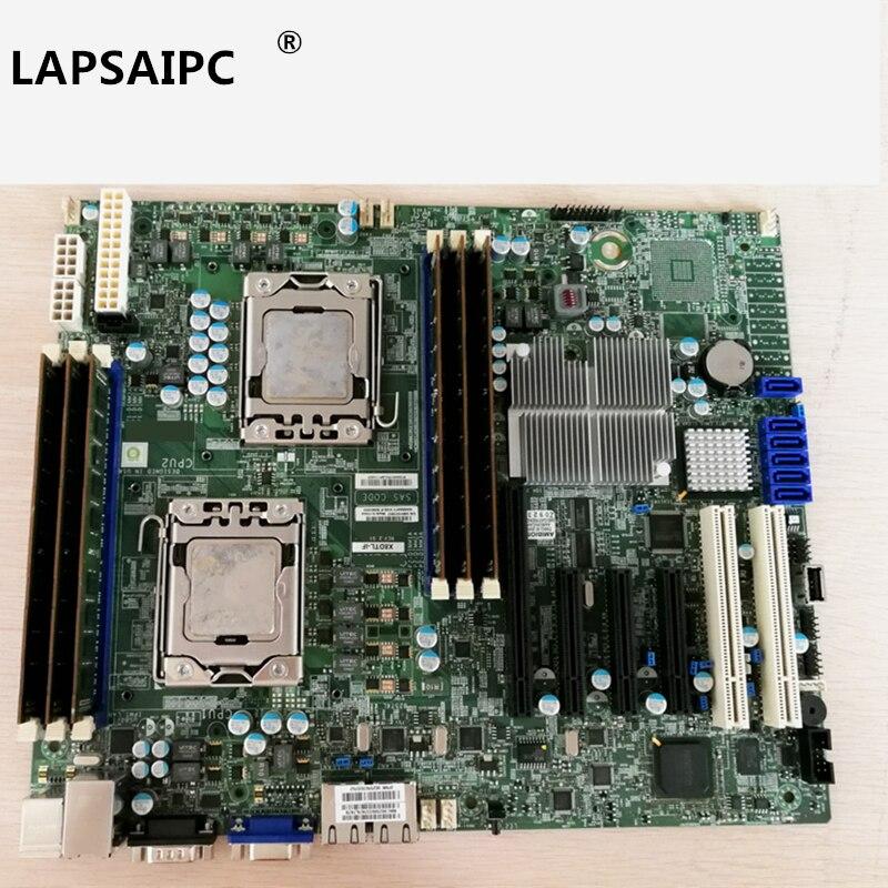 Lapsaipc X8dtl-if S7002 1366 dual road X58 serveur carte mère jeu carte mère