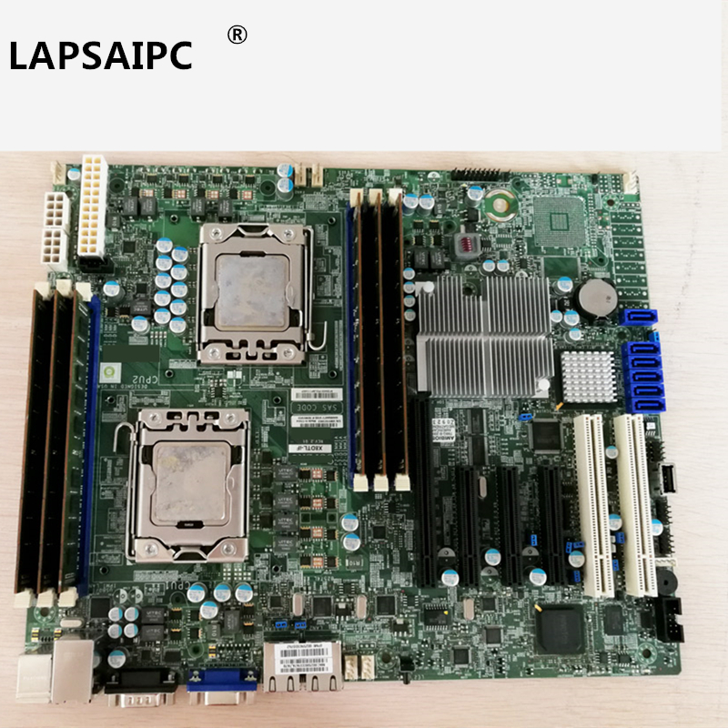 Lapsaipc X8dtl-if S7002 1366 <font><b>dual</b></font> road <font><b>X58</b></font> server <font><b>motherboard</b></font> game <font><b>motherboard</b></font> image