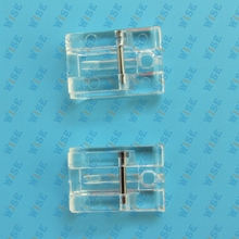 2PCS Clear Invisible Concealed Zipper Presser Foot for Snap On Bernina Bernette # CY-601
