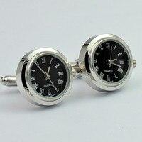 機能機械式腕時計カフス男性カフス高品質ビジネス紳士カフリンク時計カフ