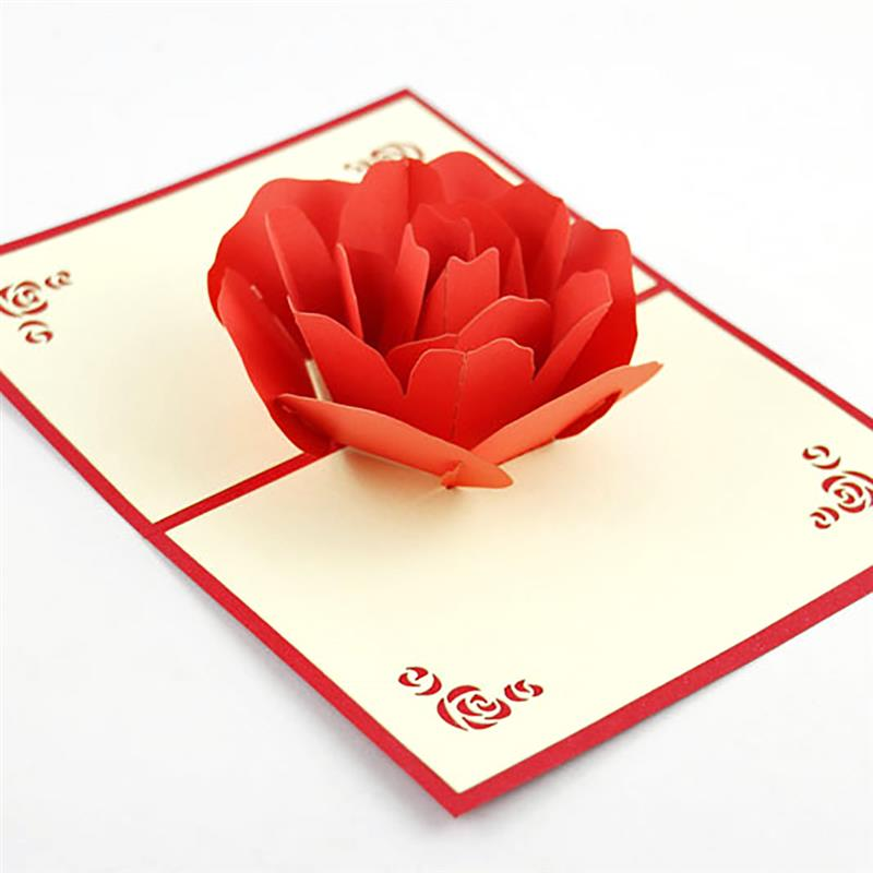 Valentines greeting card 3d hollow flower popup greeting card valentines greeting card 3d hollow flower popup greeting card handmade popup card popup gift card in cards invitations from home garden on mightylinksfo