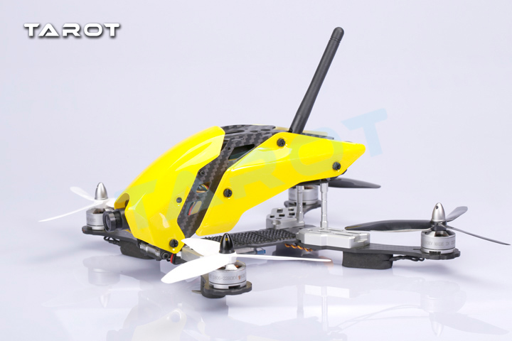Kit quadrirotor Tarot 250 à travers FPV version fibre de carbone TL250C - 2