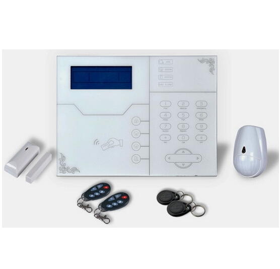 European Quality Nice Design 433MHz TCP/IP GSM Home Security Alarm Kit ST-VGT, Contact ID Protocol, Pet Immune PIR, DHL Shipping spacetechnology st 174 ip home