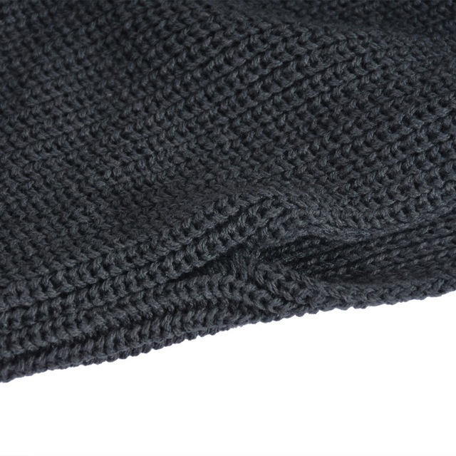 Warm Wool Knitting Scarf With Long Sleeves Shawls