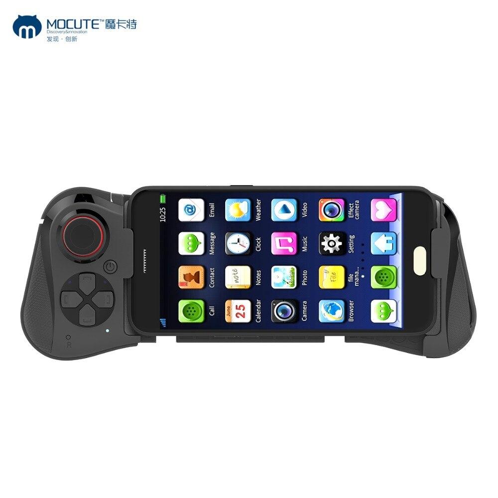 Neue Mocute 058 Drahtlose Bluetooth Gamepad Gaming Controller Teleskop Joystick für Android Telefon PUBG Spiel