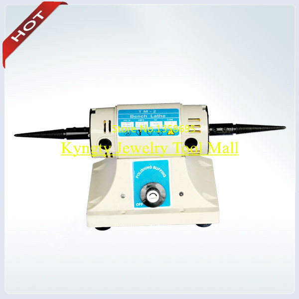 FOREDOM BENCH MINI LATHE MOTOR WITH TAPERED SPINDLES 110v-US DENTAL