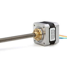 NEMA17 42 Linear Stepper Motor Trapesium Sekrup 320 Mm 0.32NM(China)
