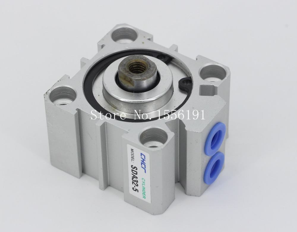 SDA32*100 Airtac Type Aluminum alloy thin cylinder,All new SDA Series 32mm Bore 100mm Stroke acq100 100 b type airtac type aluminum alloy thin cylinder all new acq100 100 b series 100mm bore 100mm stroke