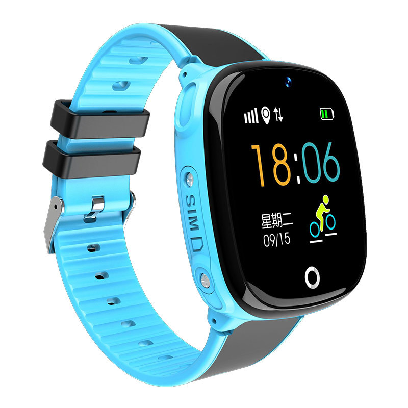 Kids Smart Watch with GPS Tracker Wearable Children\`s Connected Wrist Bracelet Sim Card Call Function Turkish Girl Digital-watch (6)