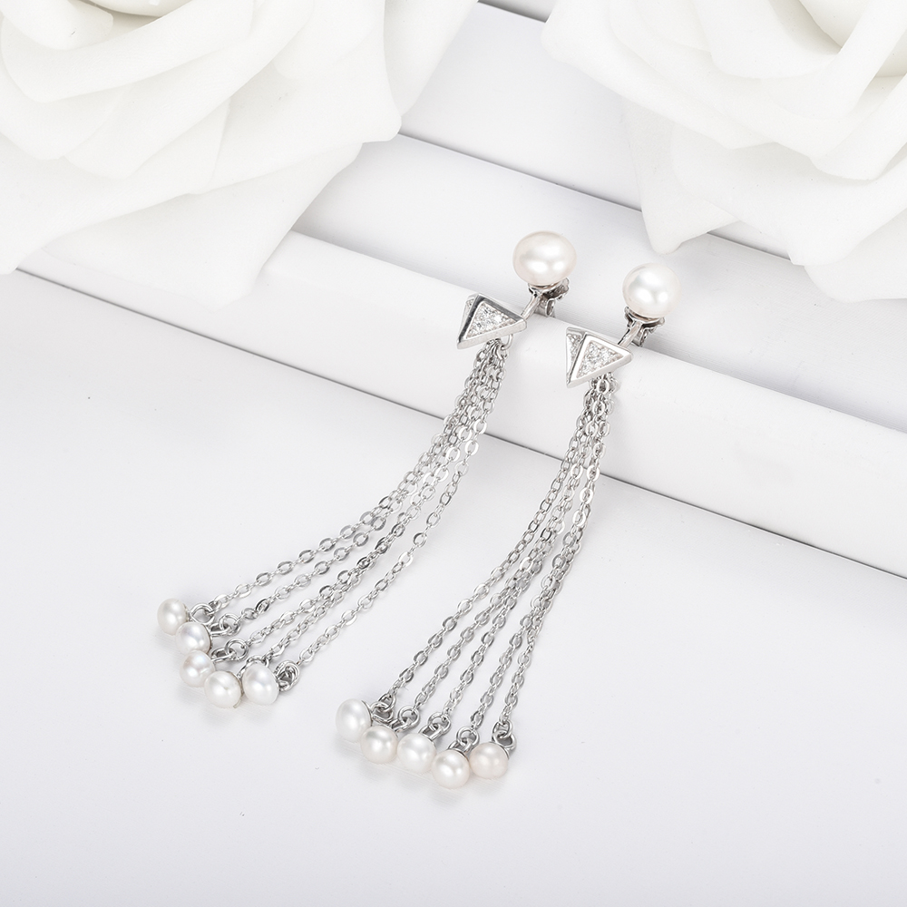 silver pearls product statement fashion elegant jewelry steamed store sterling bun necklace necklaces pendant