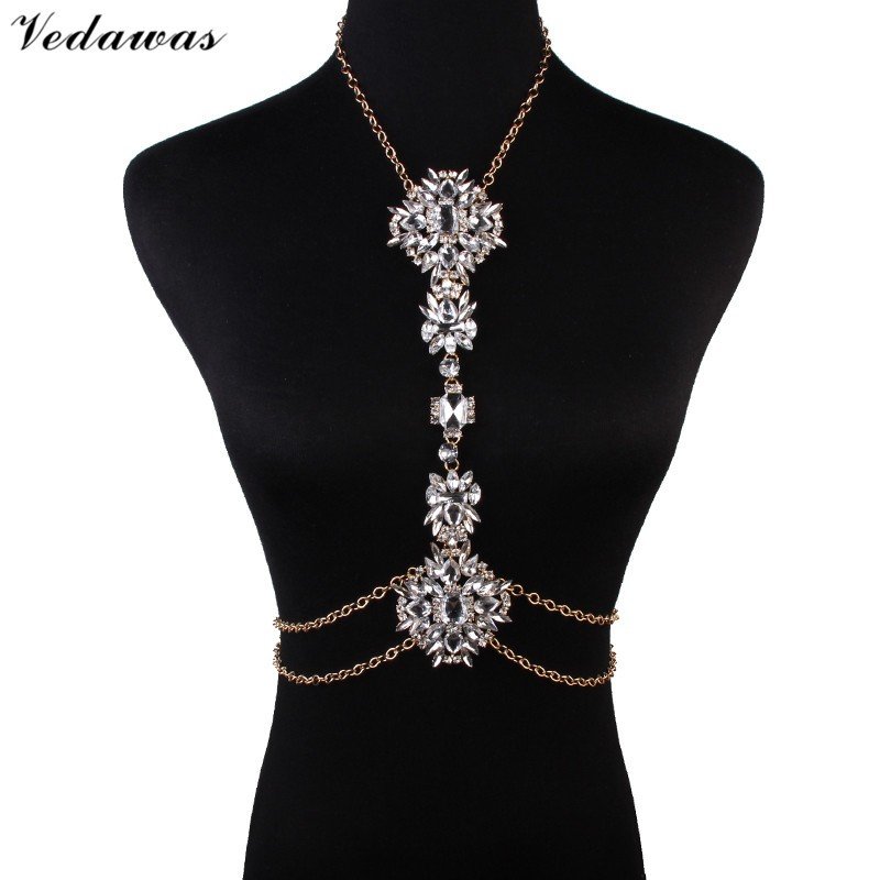 Vedawas 2016 Fashion Body Jewelry Chain Women Facebook Hot ...