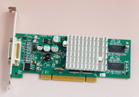Leadtek A340 128M PCI Dual VGA Dual Display Graphics Low Power