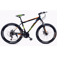 Mountain Bike Double Disc 26 Inch 21 Speed Bicycle Of Male And Female Students Aluminum Alloy