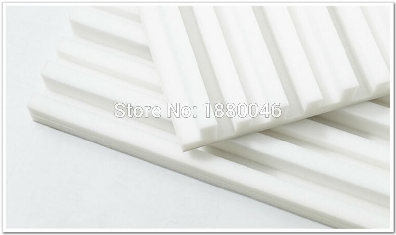 acoustic foam white acoustic foam Soundproof acoustic panel studio - Home Decor - Photo 1