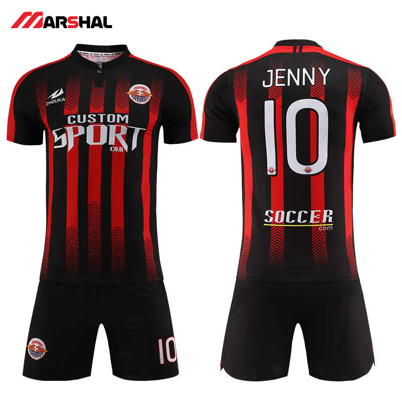 17193cd5e6b Hot sale soccer shirt maker custom blank jerseys team uniform football kits  for sale make on