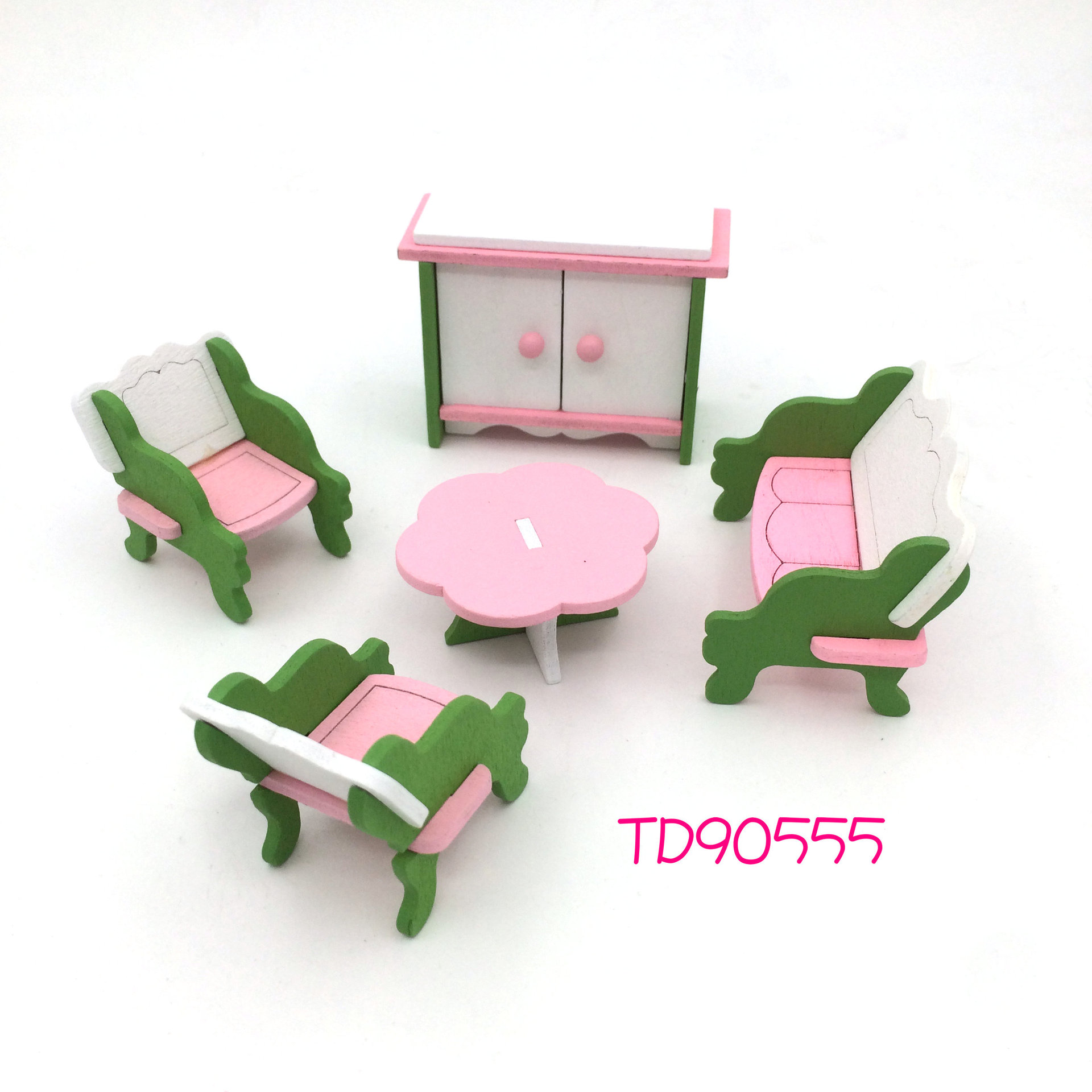 mini furniture sets. Wooden Mini Furniture Set Kids Play Toy Cabinet Desk Chair Bed Dollhouse Bedroom Furnitures Playing House Game Toy-in Kitchen Toys From \u0026 Hobbies On Sets L