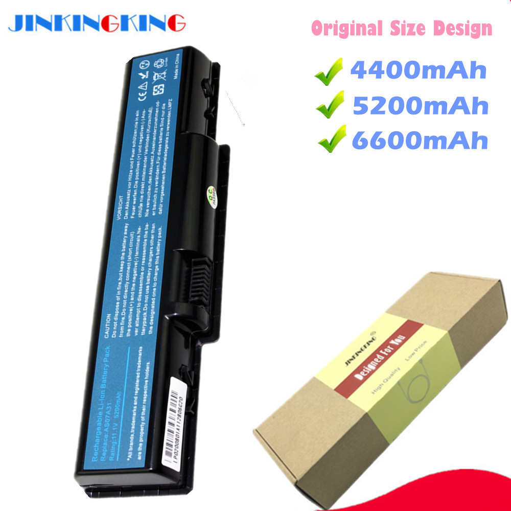 Laptop Battery For Acer Aspire 4330 4332 4336 4520 4520G 4530 4535G 4710 4710G 4710Z 4715Z 4720 4720G AS07A75 AS2007A batteia image