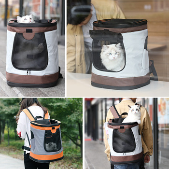 @HE New Breathable Dog Cat Pet Carrier Cats and Dogs Outdoor Products Portable Travel Shoulder Bag For Puppy Kitten 1