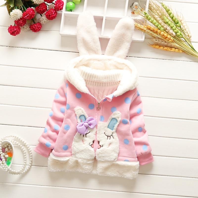 c3d25ba3b BibiCola Baby Girl Jackets Baby Girls Outerwear Coats Hooded Jacket ...