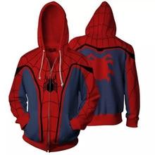 Spiderman 3D Print Hoodie